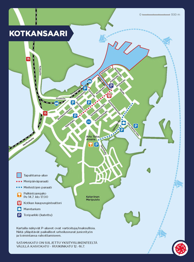 Info The Tall Ships Races Kotka 2017